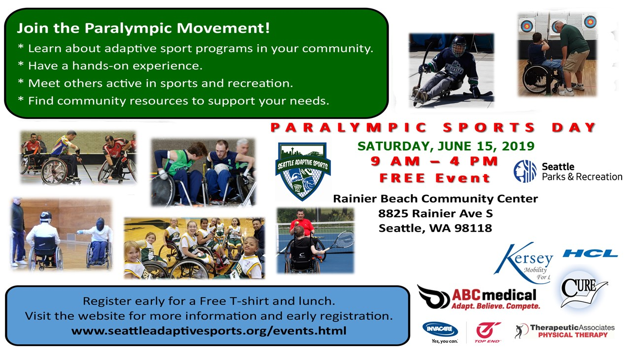 Paralympic Sports Day 2019