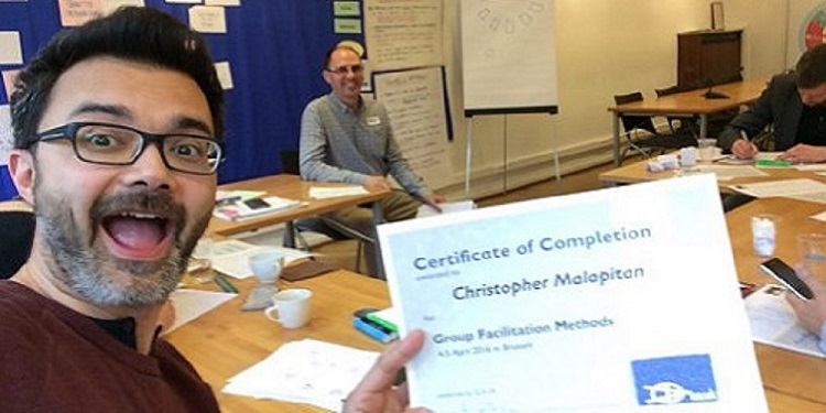 ToP Group Facilitation Methods, April 2016 in Brussels