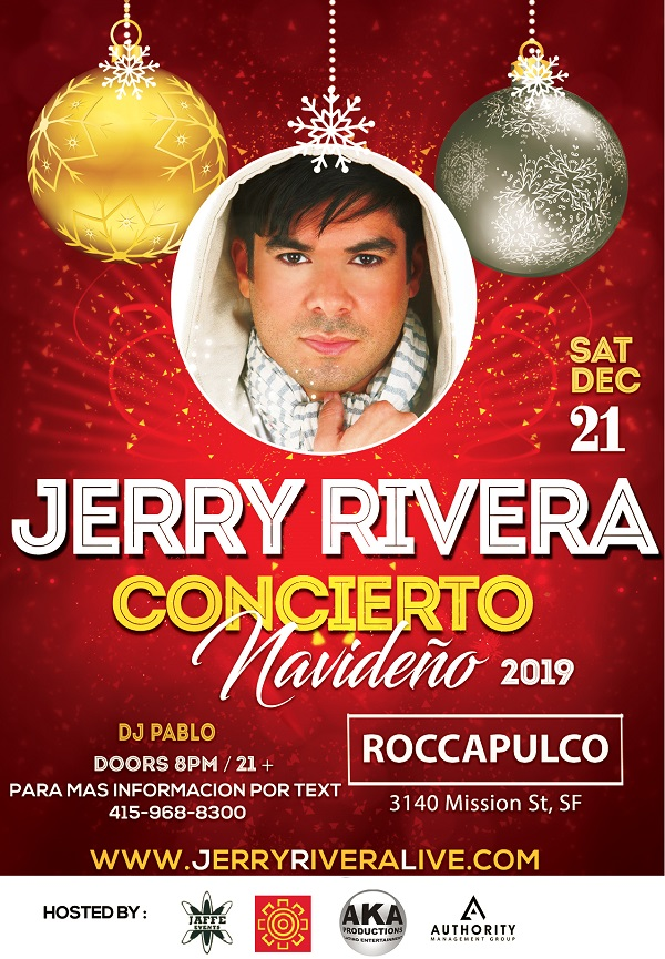 JERRY RIVERA LIVE