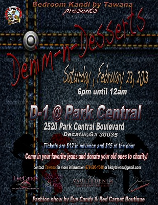Denim -n- Dessert Flyer
