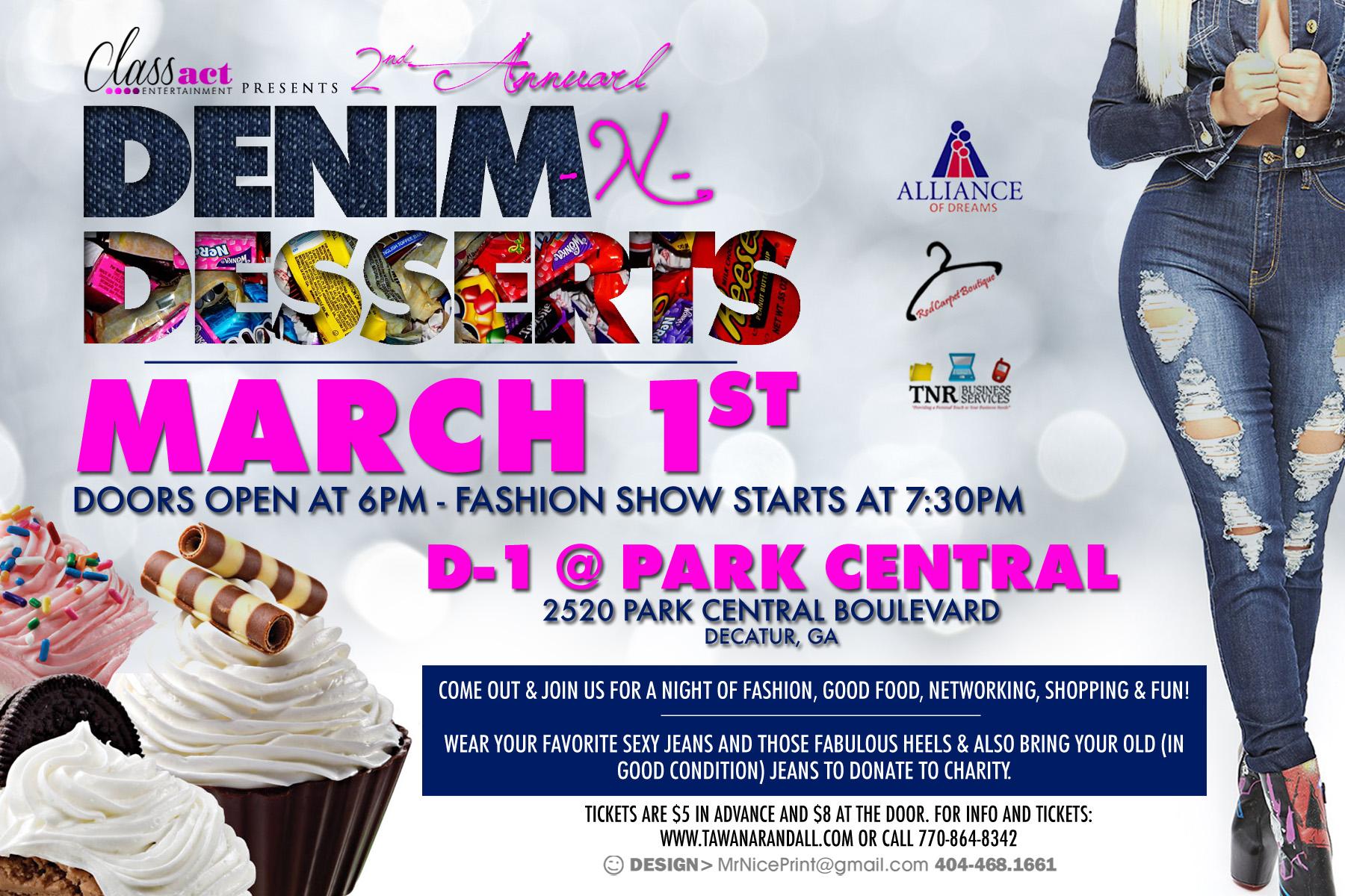 2nd Annual Denim n Desserts
