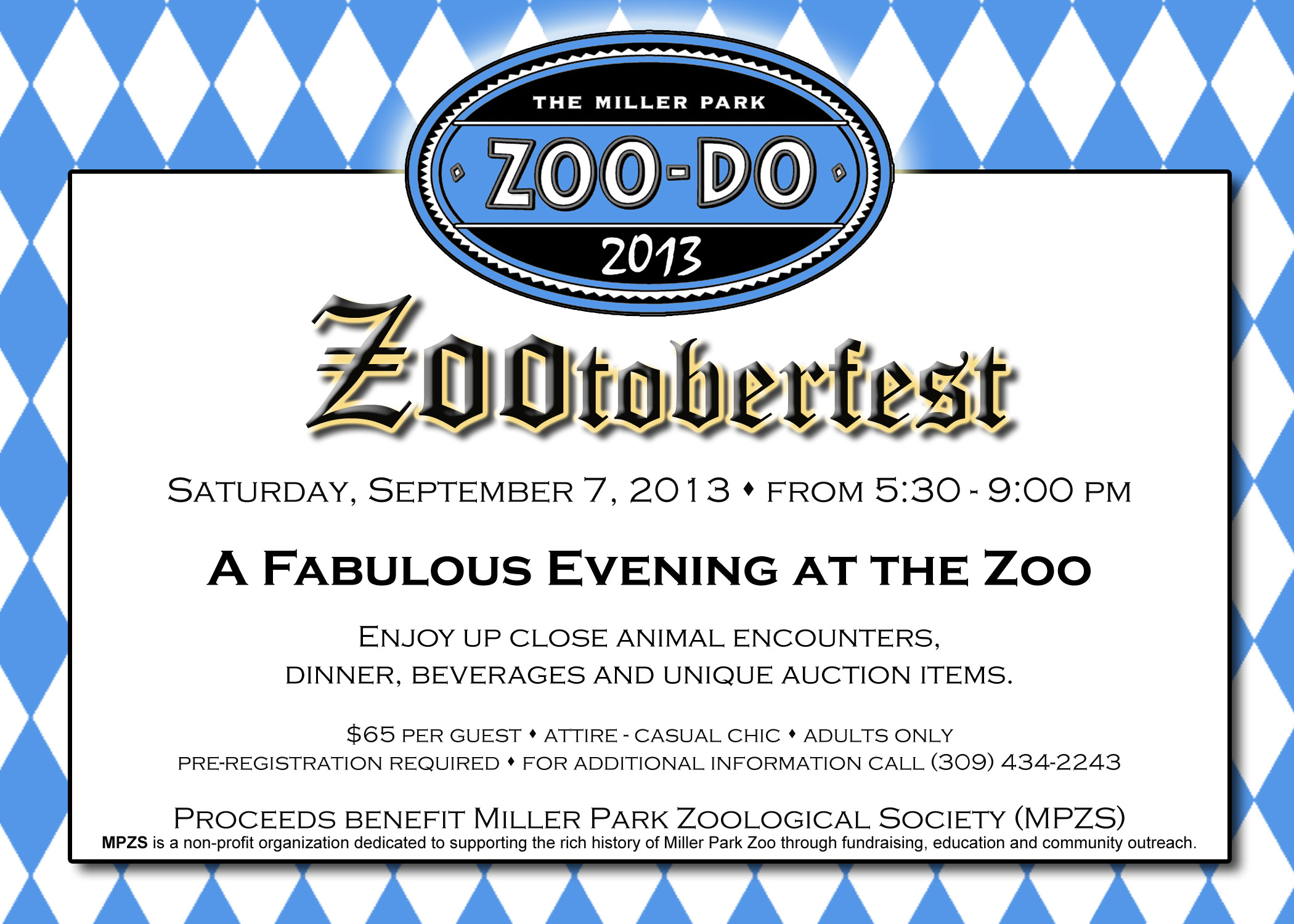 Zoo Do invite