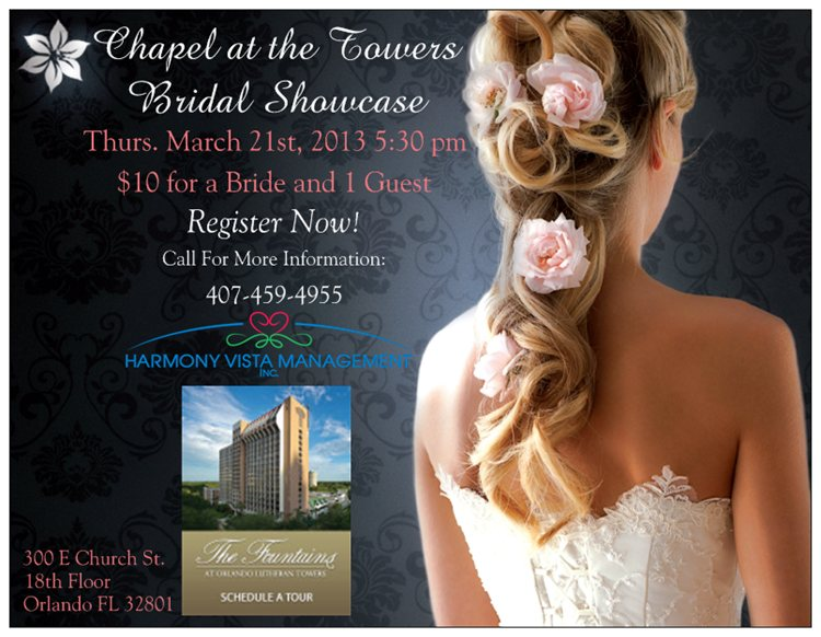 Chapel at the Towers Bridal Showcase March 21, 2013