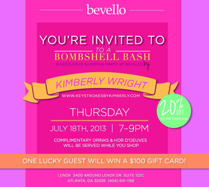 Bombshell Invite