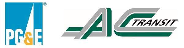 PGE and AC Transit Logos
