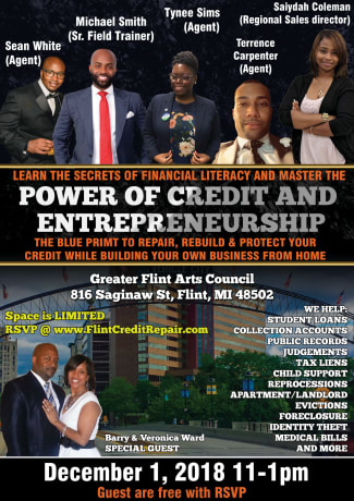 Flint Credit Repair seminar