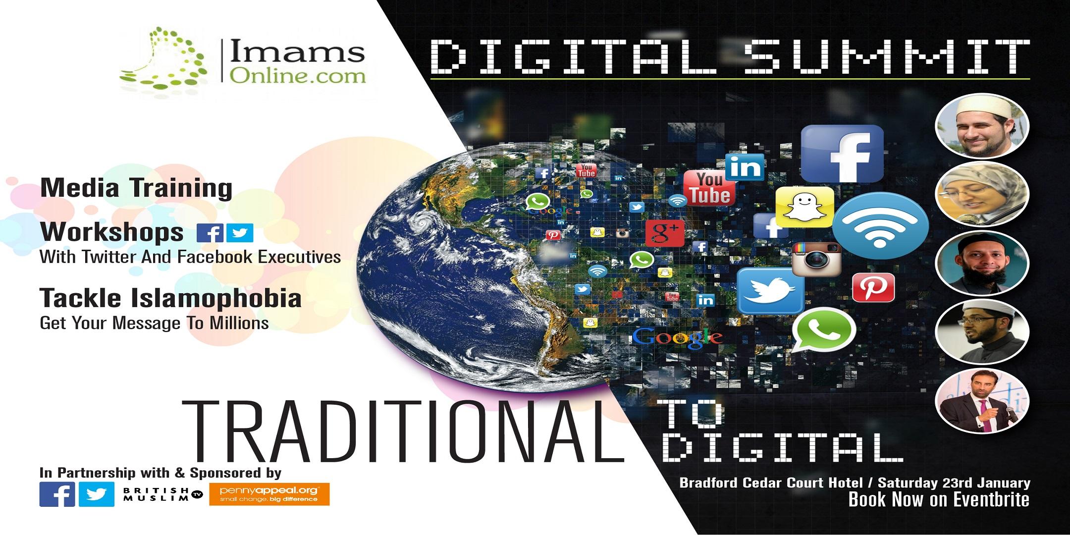 Imams Online Regional Digital Summit - Bradford