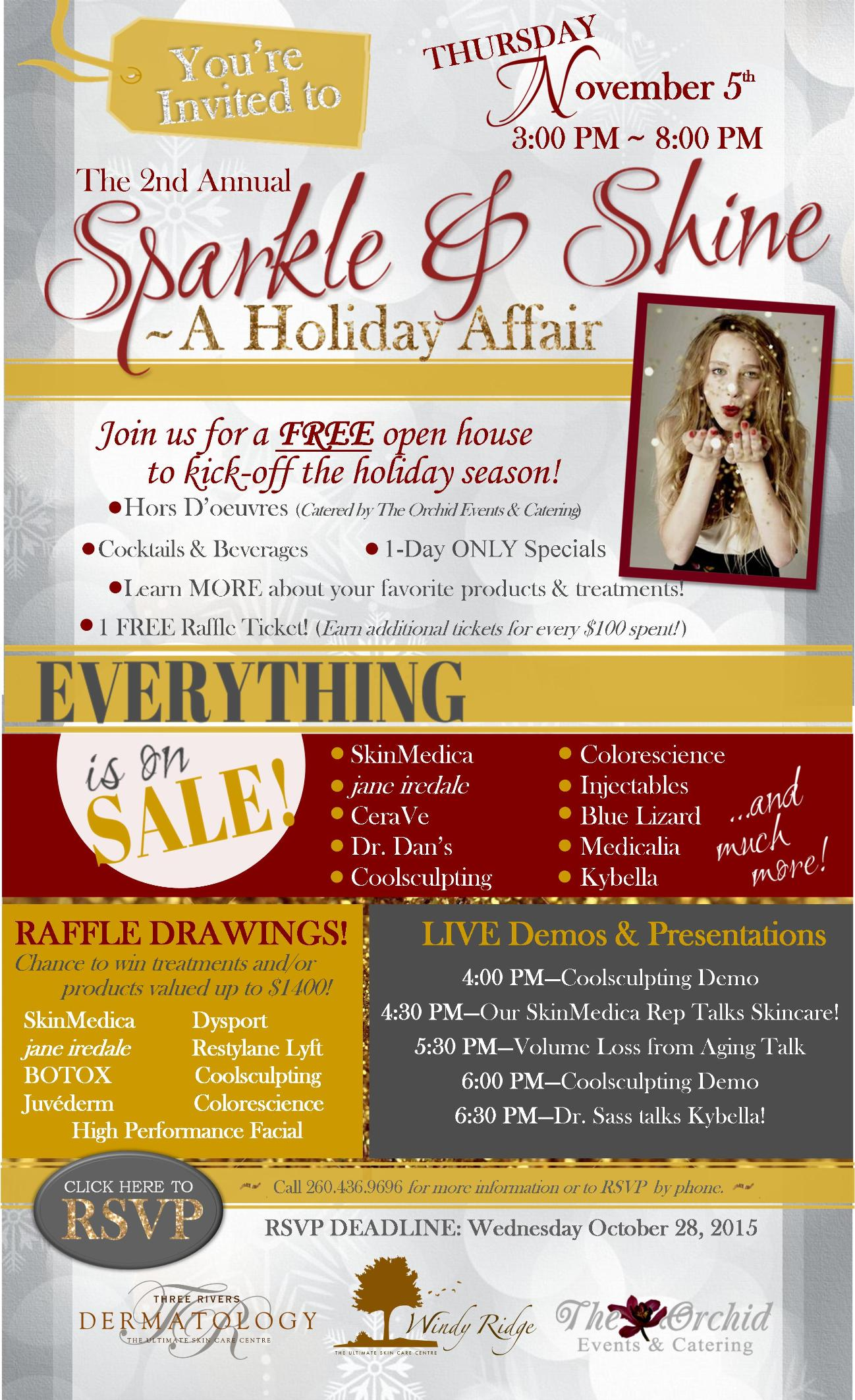 2nd Annual Sparkle & Shine~A Holiday Affair