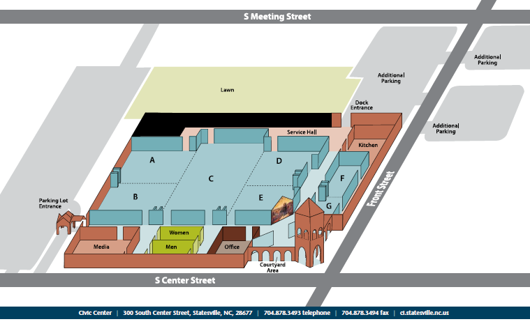 Civic Center layout