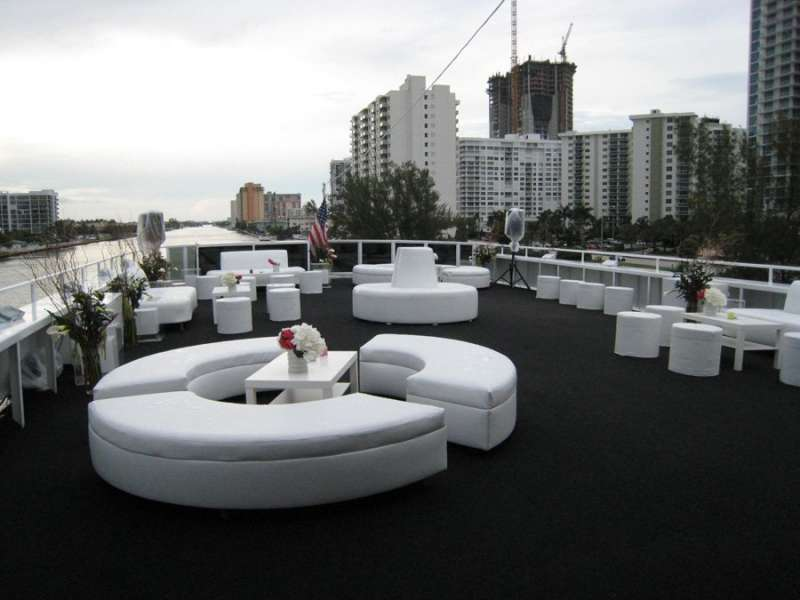 Miami & Me All White Party Saturday July 15th on board The South Beach Lady