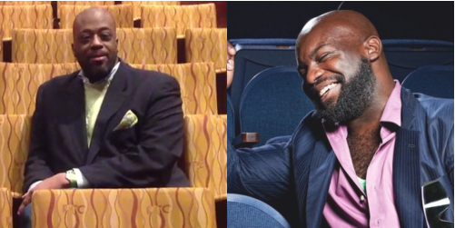 Creative director of The Brothers' Network Gregory Walker (Left) and Playwright Ike Holter (right)