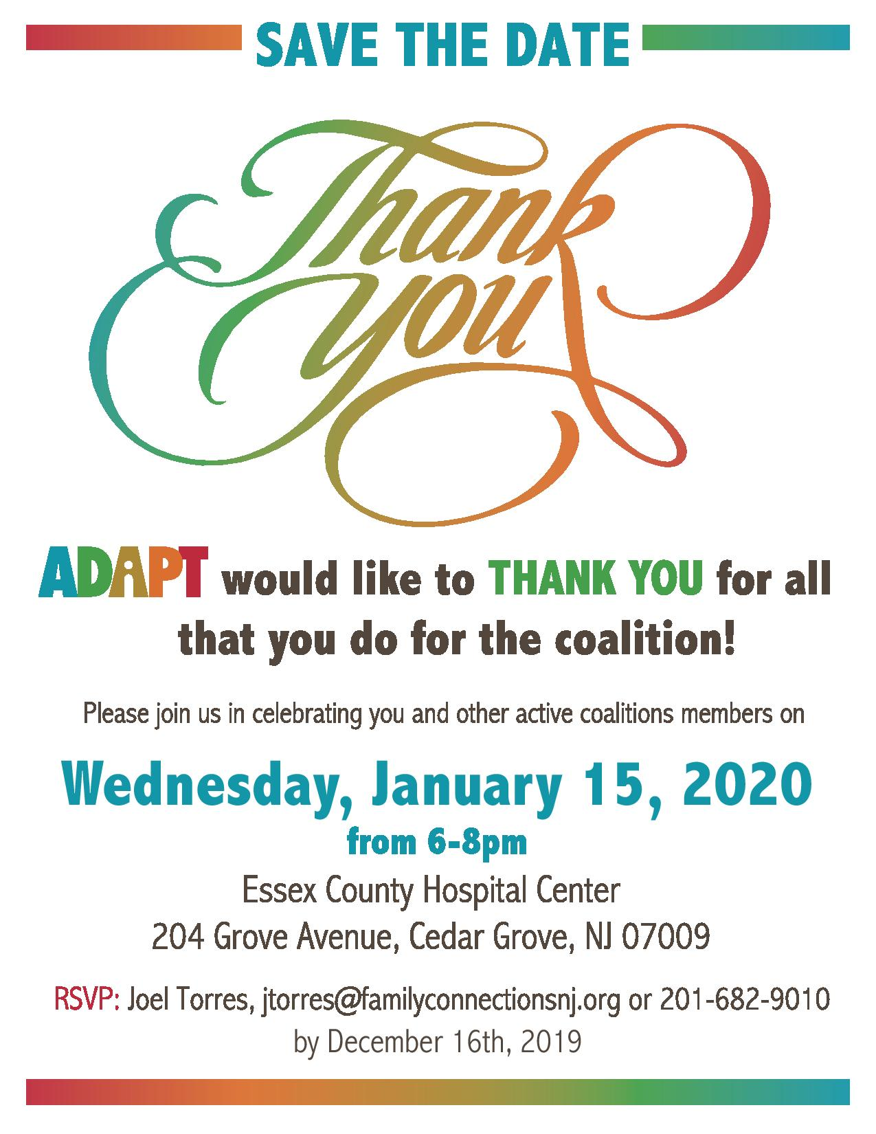 Events In Orange County January 2020.Adapt S 2020 Thank You Dinner Tickets Wed Jan 15 2020 At