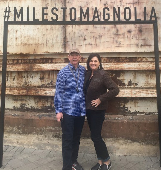 Gary and Kathy Leland Miles to Magnolia