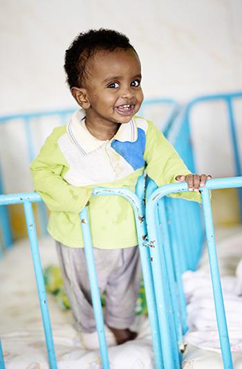 Orphanage in Addis Ababa, Ethiopia