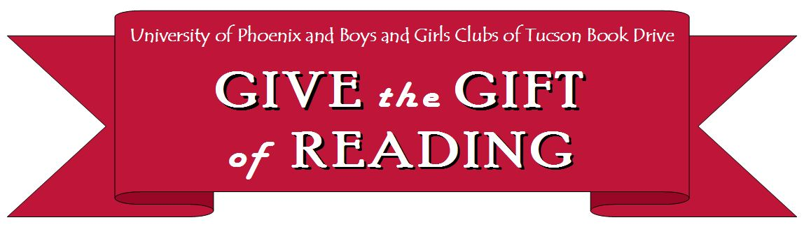 Boys and Girls Club Book Drive Banner
