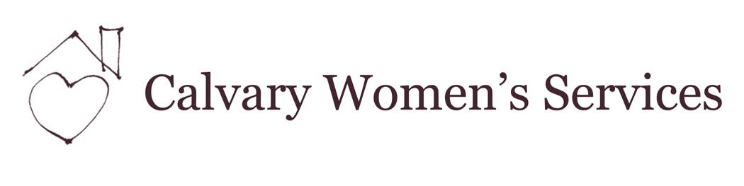 Calvary Women's Services Logo and Text