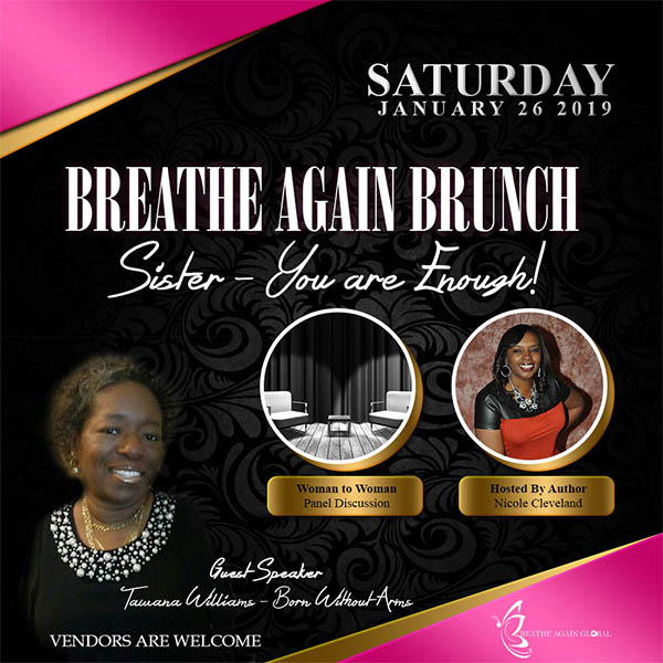 breathe again brunch