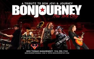 A Tribute To BON JOVI, JOURNEY & THE EAGLES featuring BONJOURNEY...