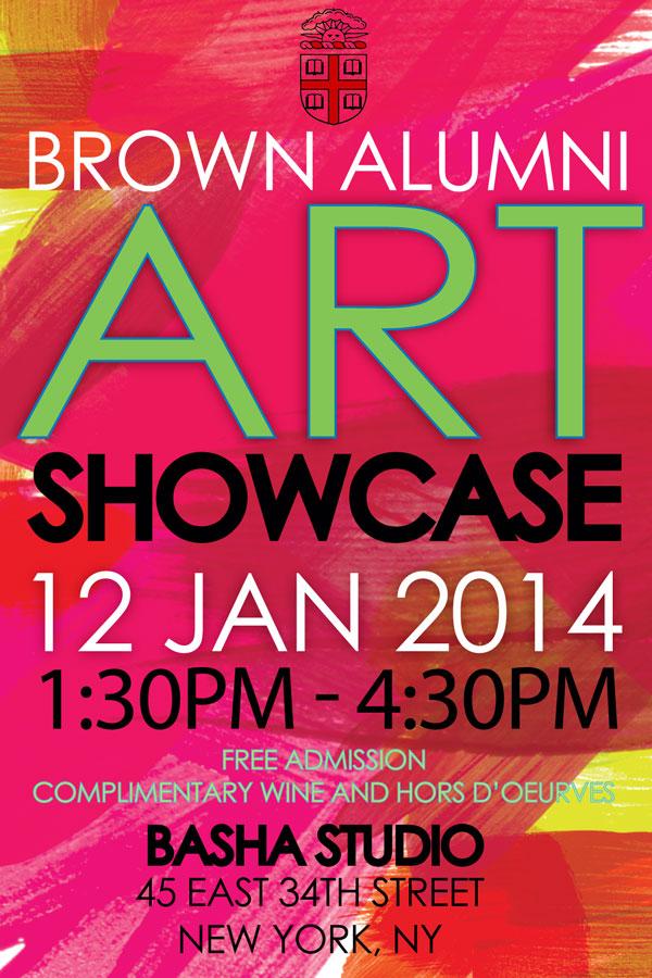 Brown Unity Showcase 12 Jan 2014