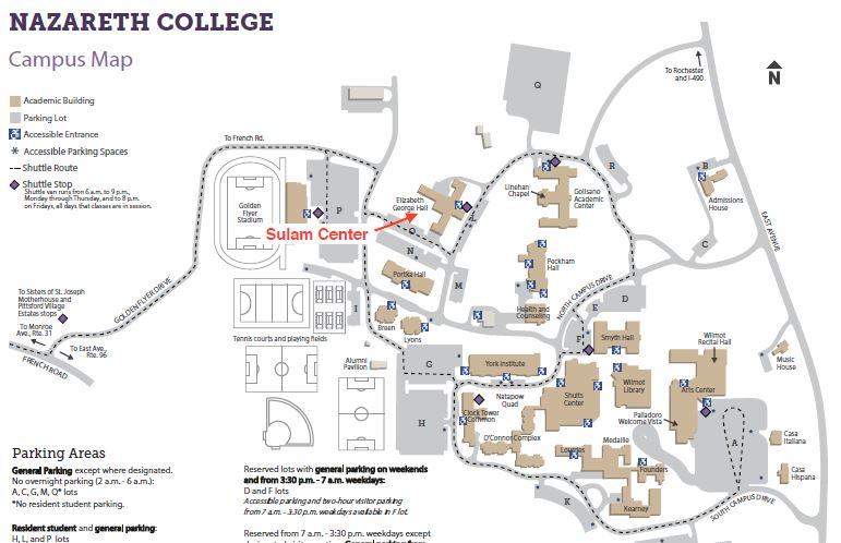 Nazareth Campus Map Related Keywords Suggestions Nazareth Campus