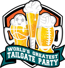The official logo of the World's Greatest Tailgate Party