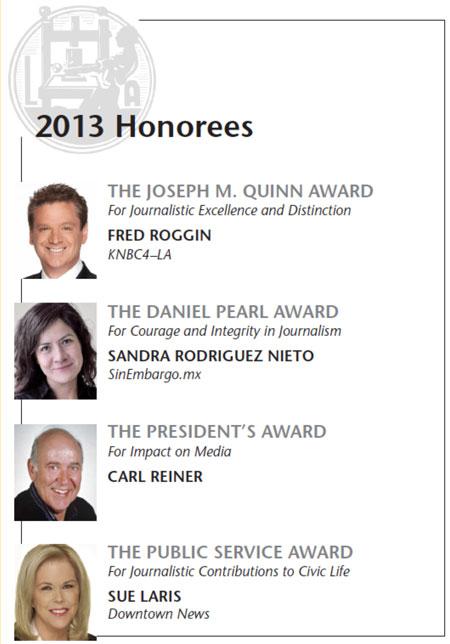 SoCal2013 Honorees