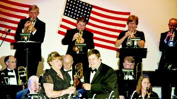 "LANGDON CENTER BIG BAND ""USO"" SHOW June 18th, 2011"