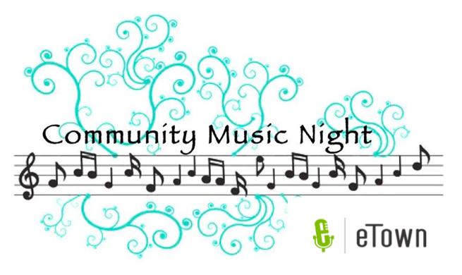 Community Music Night logo