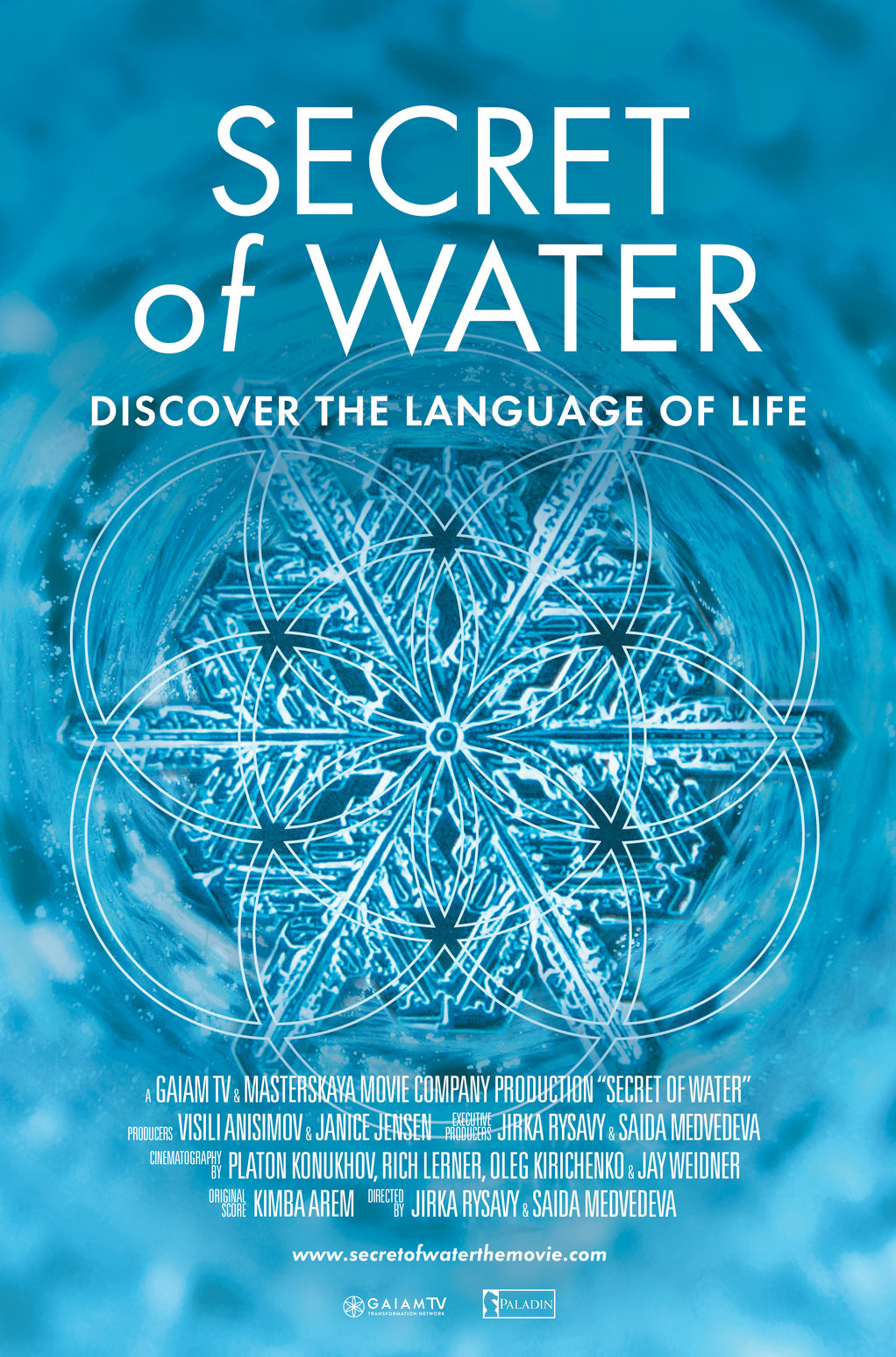 poster for the Secret of Water documentary