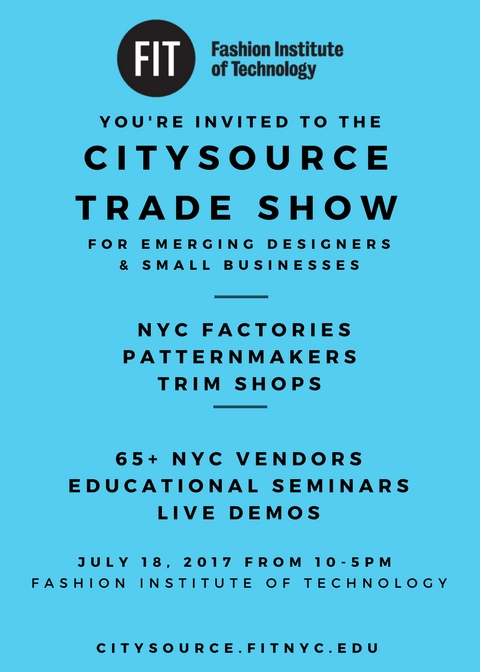 CitySource Tradeshow at FIT