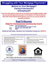 Help For Homeowners Community Event