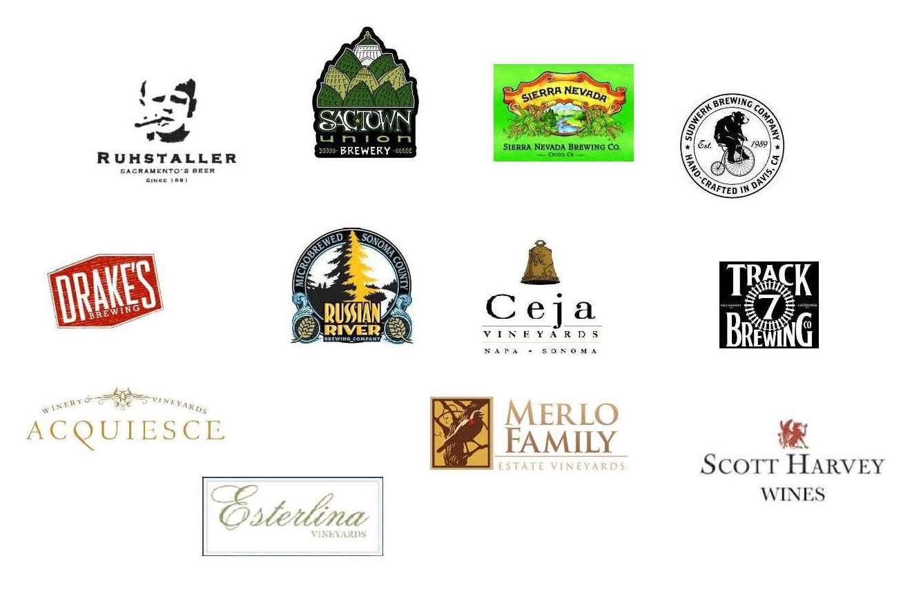 Participating Breweries & Wineries