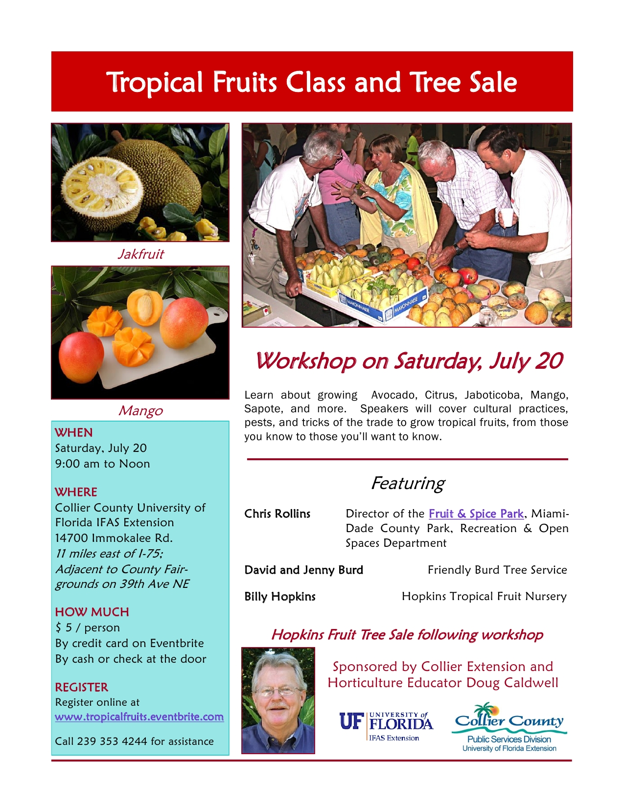 Tropical Fruits Workshop 7-20