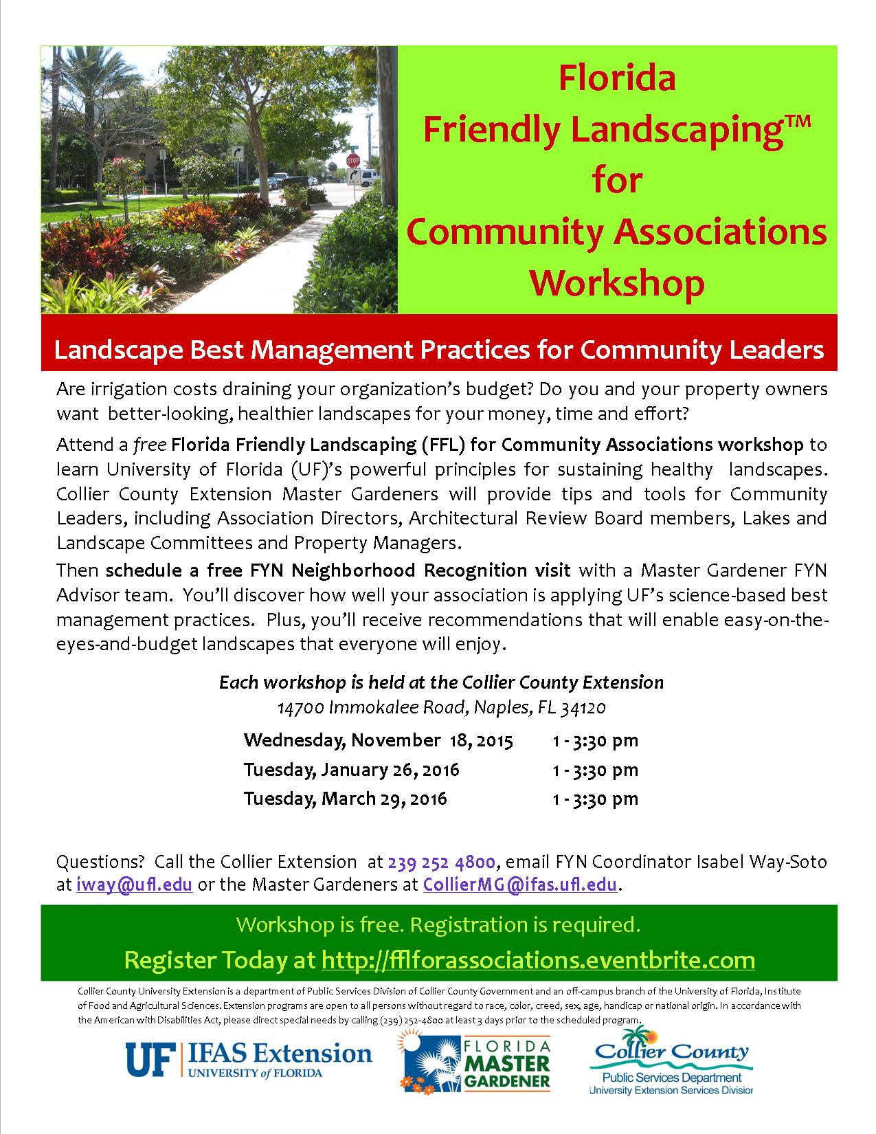 FFL for Association flyer