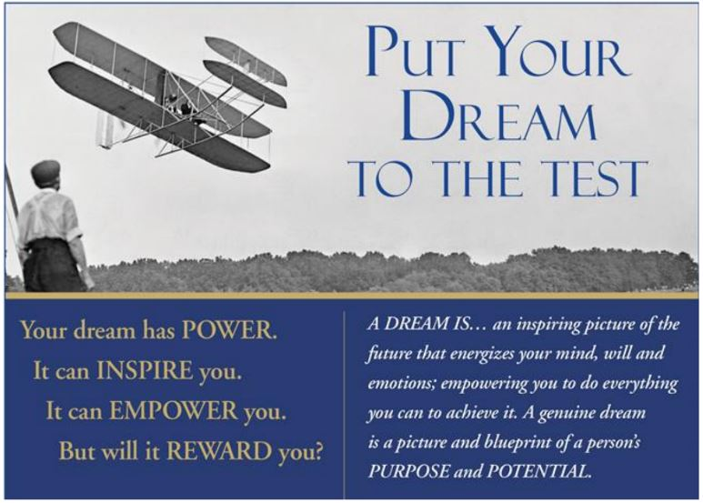 Put Your dreams to the test