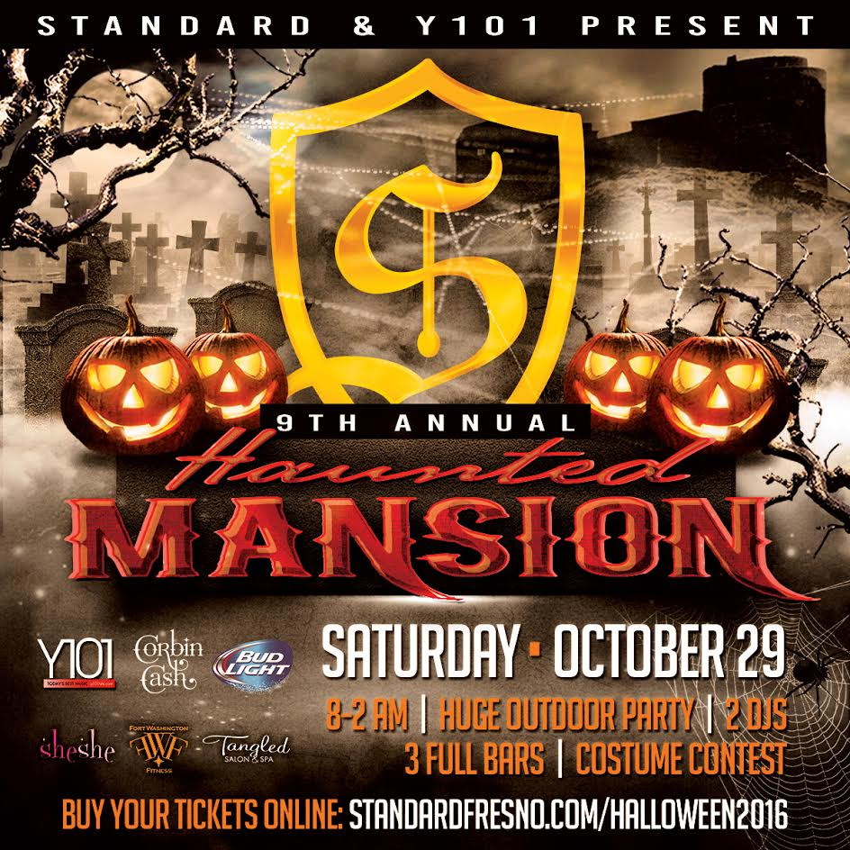 2016 Haunted Mansion Halloween Party Tickets, Sat, Oct 29, 2016 at ...
