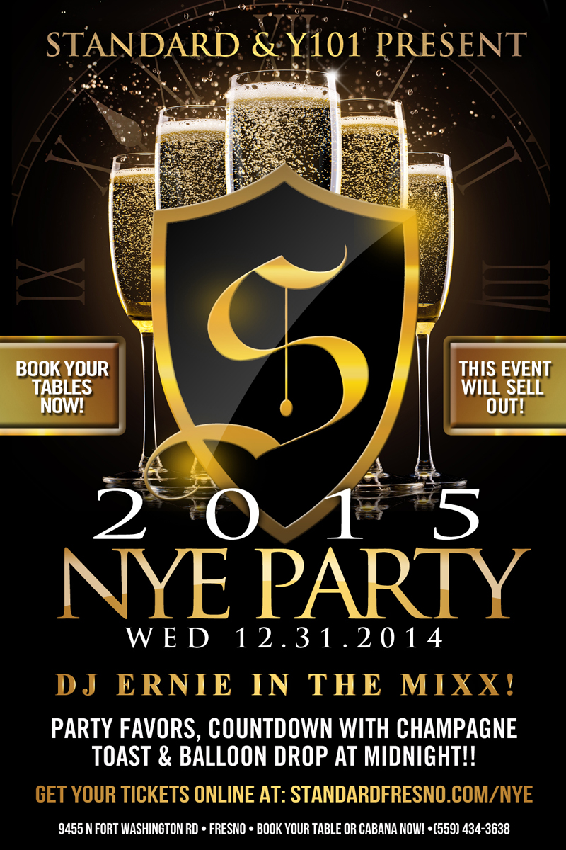 New Years Eve at Standard in Fresno