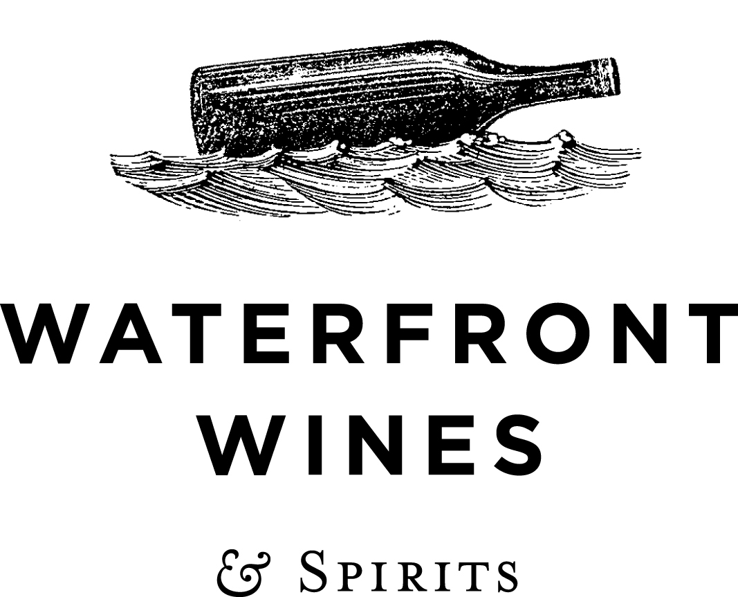 Waterfront Wines logo