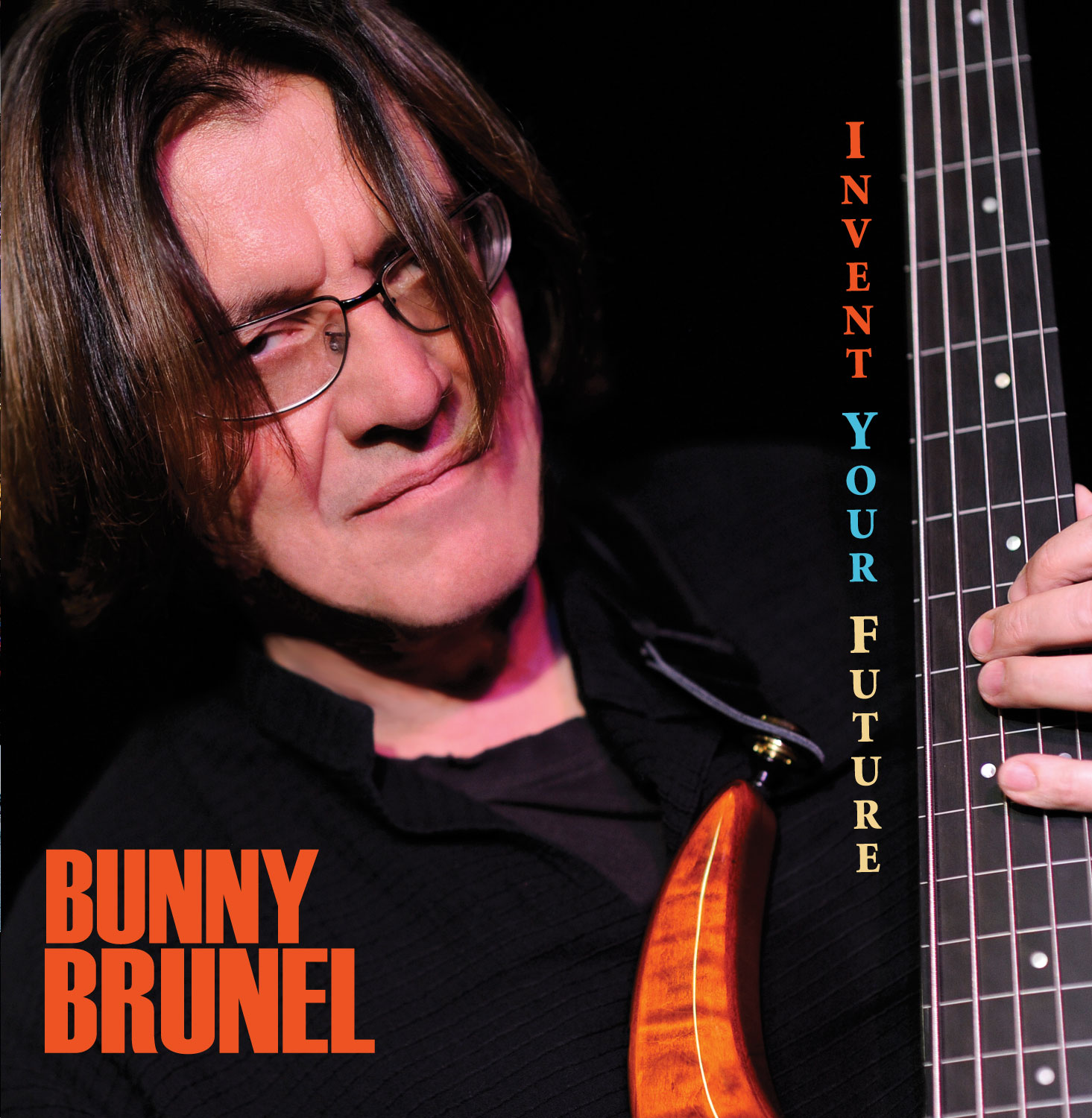 Bunny Brunel Invent Your Future CD Cover