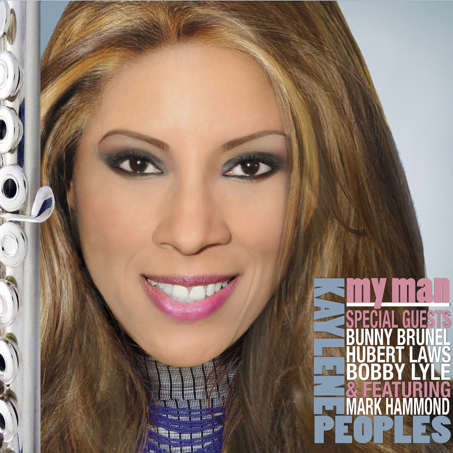 KAYLENE PEOPLES MY MAN CD COVER