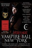 Endless Night Vampire Ball NYC (Halloween) Sanguinomicon...