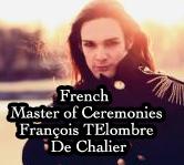 Master of Ceremonies François Telombre