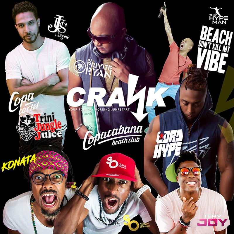 CRANK 2018 DJs