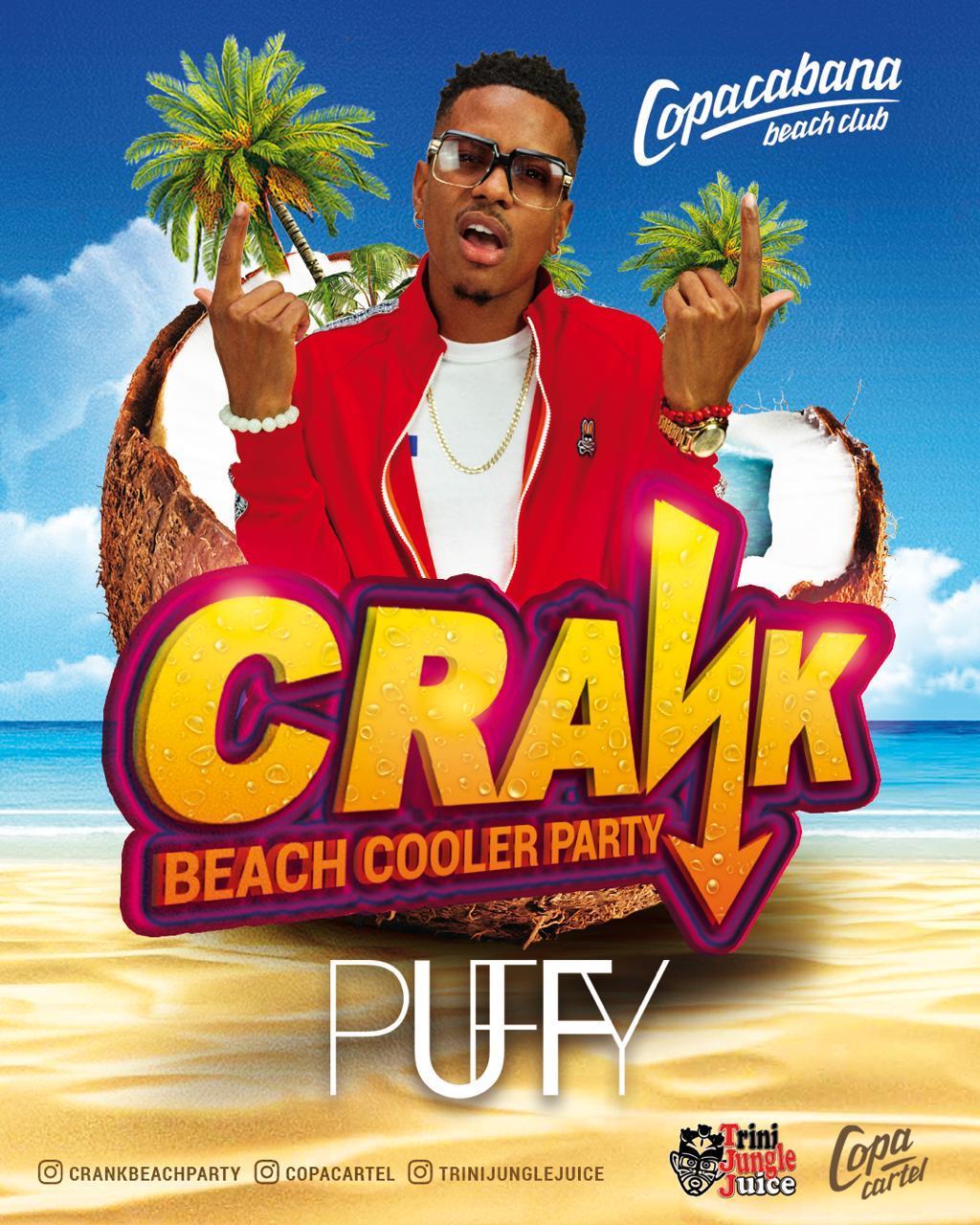 CRANK Beach Cooler Party 2019