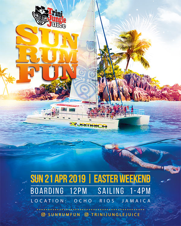 Trini Jungle Juice: SUN RUM FUN Cruise 2019