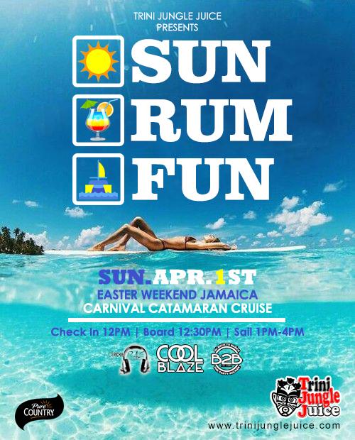 Trini Jungle Juice: SUN RUM FUN Cruise 2018