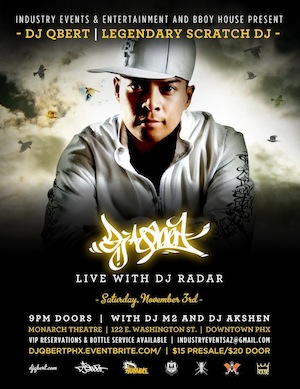 DJ QBert Live in PHX