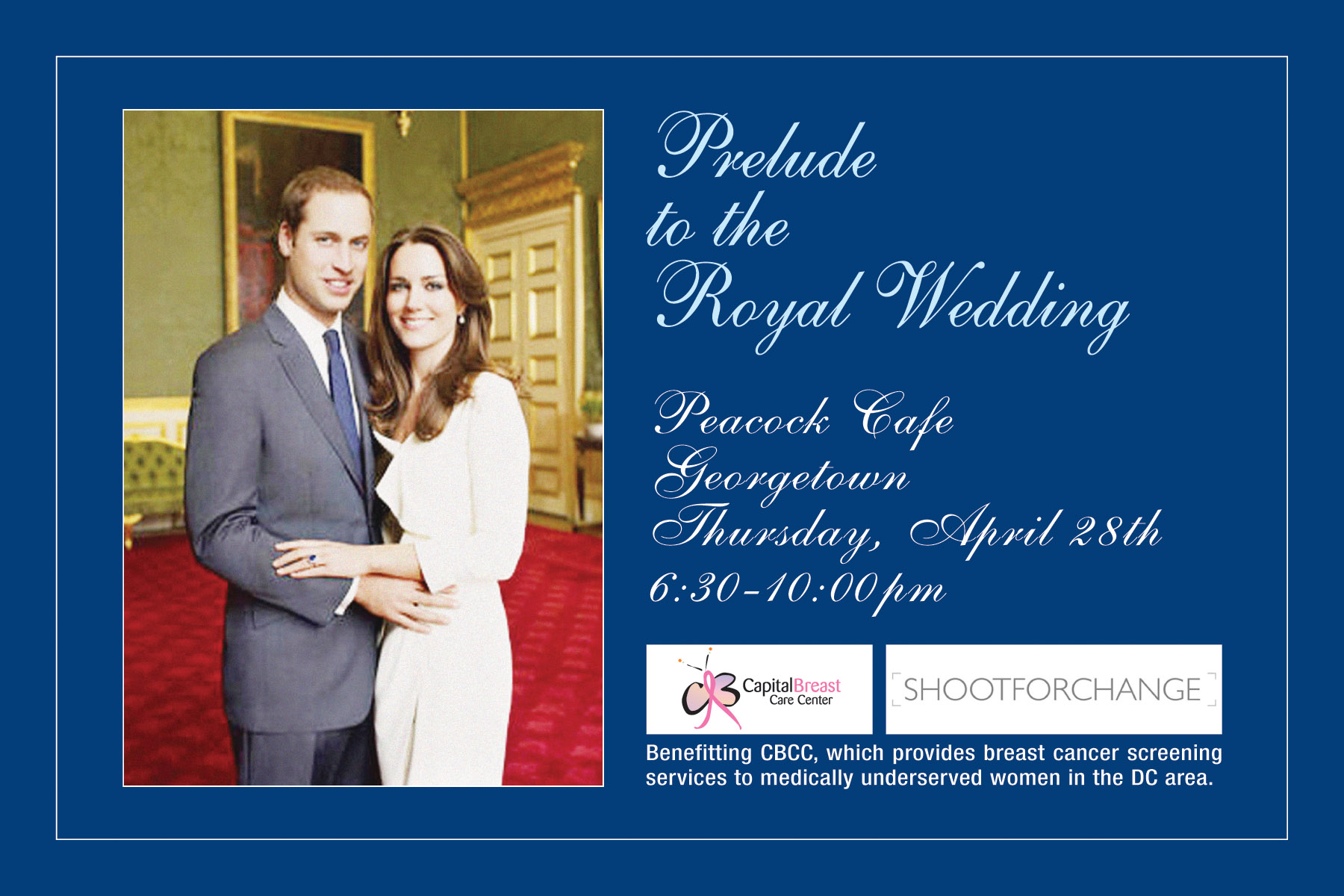 Royal Wedding Prelude to Benefit CBCC