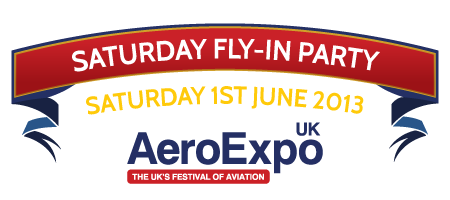 AeroExpo UK Fly-In Party