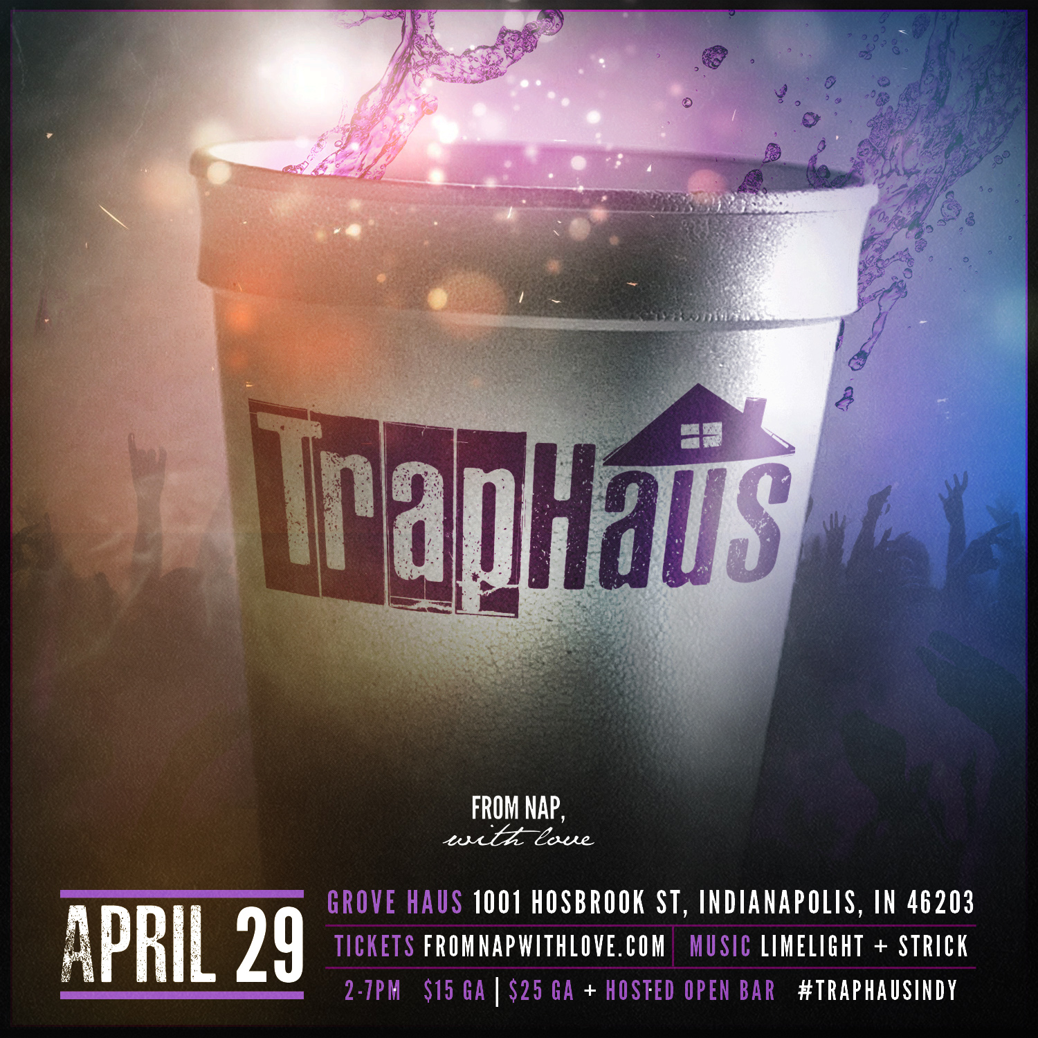 from nap with love presents traphaus tickets sat apr 29 2017